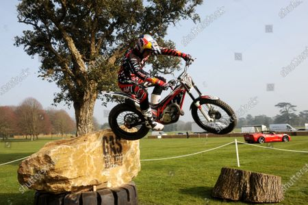 Goodwood Estate, West Sussex. 14th March 2012 Dougie Lampkin World Copyright: Jeff Bloxham/LAT Photographic Ref: Digital Image Only