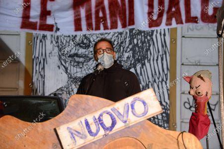 Editorial picture of Nuovo Cinema Palazzo protest, Rome, Italy - 03 Dec 2020