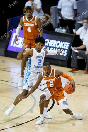 Editorial image of Texas North Carolina Basketball, Asheville, United States - 02 Dec 2020
