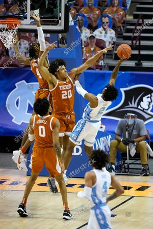 Editorial picture of Texas North Carolina Basketball, Asheville, United States - 02 Dec 2020