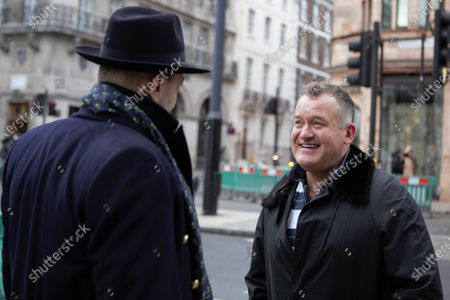 Editorial photo of Paul Burrell Out And About in London, UK - 04 Dec 2020