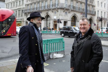 Stock Image of Paul Burrell, Former Footman to Her Majesty Queen Elizabeth II and Butler to the late Princess Diana is seen out and about in Piccadilly, London.
