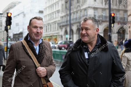 Stock Photo of Paul Burrell, Former Footman to Her Majesty Queen Elizabeth II and Butler to the late Princess Diana is seen out and about in Piccadilly, London.