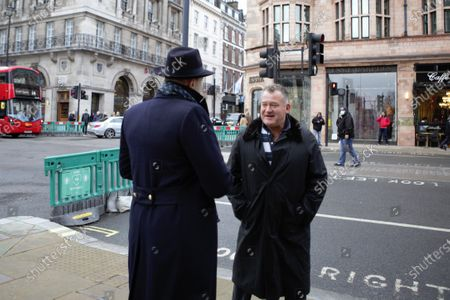 Editorial image of Paul Burrell Out And About in London, UK - 04 Dec 2020