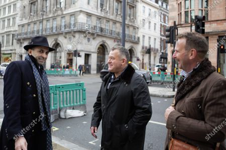 Editorial picture of Paul Burrell Out And About in London, UK - 04 Dec 2020