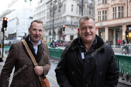 Paul Burrell, Former Footman to Her Majesty Queen Elizabeth II and Butler to the late Princess Diana is seen out and about in Piccadilly, London.
