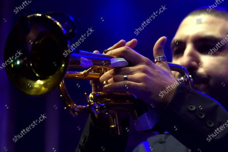 Editorial picture of Ibrahim Maalouf performs during the Beirut Chants Festival, Lebanon - 04 Dec 2020