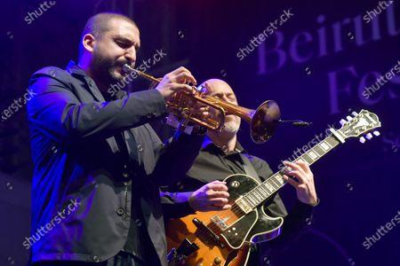 Editorial photo of Ibrahim Maalouf performs during the Beirut Chants Festival, Lebanon - 04 Dec 2020