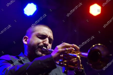 Editorial image of Ibrahim Maalouf performs during the Beirut Chants Festival, Lebanon - 04 Dec 2020
