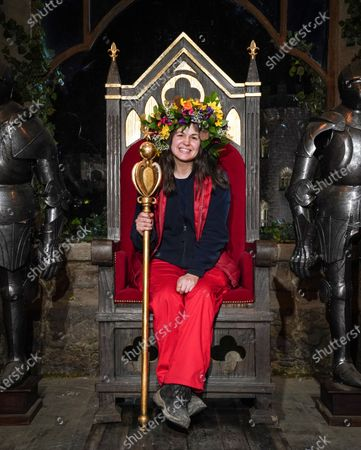 Giovanna Fletcher is crowned Queen of the Castle