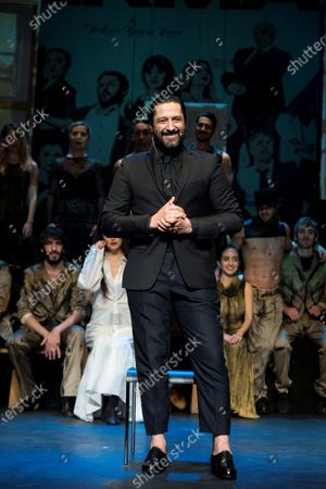 Editorial image of Rafael Amargo announces the postponement of 'Yerma' premiere, Madrid, Spain - 01 Dec 2020