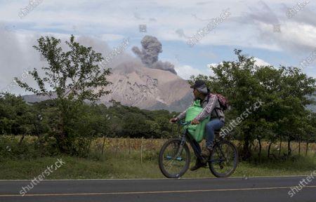 Editorial image of Eruption at Telica volcano in Leon, Nicaragua - 04 Dec 2020