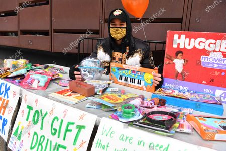Editorial photo of Black Youth Matter: Toy Gift Drive, New York, USA - 05 Dec 2020