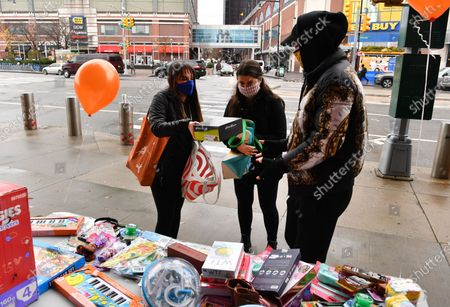 Editorial picture of Black Youth Matter: Toy Gift Drive, New York, USA - 05 Dec 2020