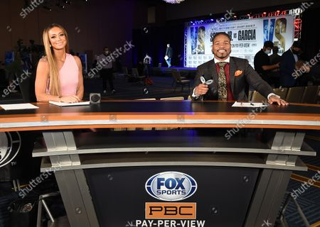 Stock Picture of Kate Abdo, Shawn Porter