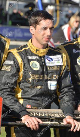 17-20 October, 2012, Braselton, Georgia USA.#12 Rebellion Racing's Neal Jani.(c)2012 Dan R. Boyd, LAT Photo USA