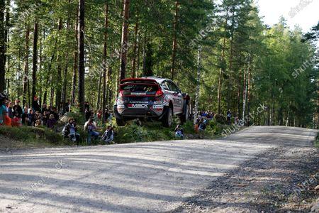 Round 08-Neste Rally Finland 1/8-4/8 2012. Jari Ketomaa, Ford WRC, Action. Worldwide Copyright: McKlein/LAT