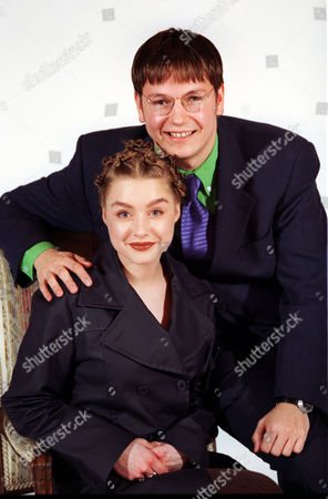 Eastenders Stars Daniela Denby-ashe And Mark Homer At The Launch Of The Bbc's Spring Schedule.