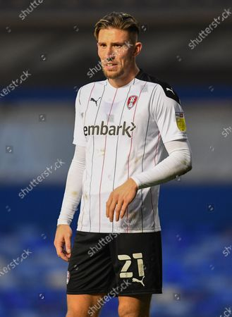 Stock Photo of Angus MacDonald of Rotherham United