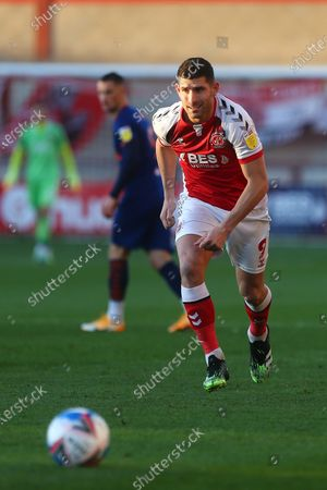 Stock Image of Ched Evans of Fleetwood