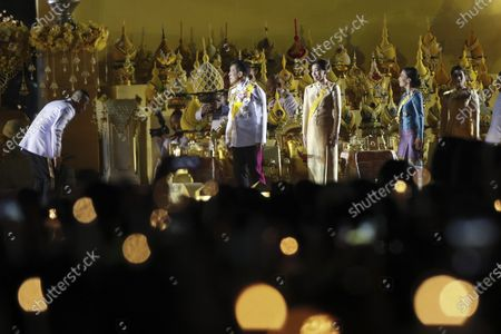 Editorial photo of Candle light ceremony in remembrance of the birthday of late Thai King Bhumibol Adulyadej, Bangkok, Thailand - 05 Dec 2020