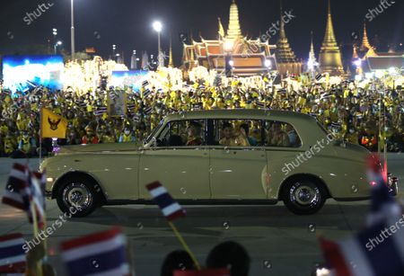 Editorial image of Candle light ceremony in remembrance of the birthday of late Thai King Bhumibol Adulyadej, Bangkok, Thailand - 05 Dec 2020
