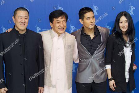 Director Ding Sheng, Jackie Chan, Steve Yoo, Peng Lin