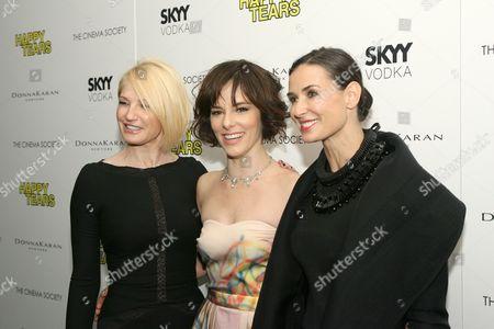 Ellen Barkin, Parker Posey, Demi Moore