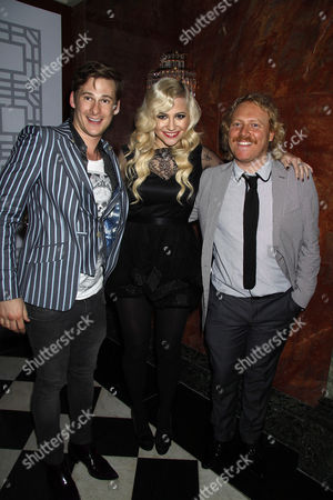 Lee Ryan, Pixie Lott and Leigh Francis
