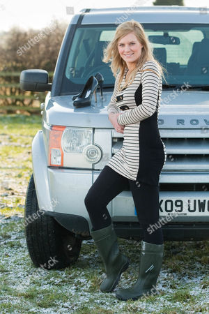 Editorial photo of Anna Simpson Voted 'Sexiest Farmer in Britain' - 12 Feb 2010