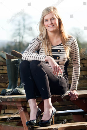 Editorial picture of Anna Simpson Voted 'Sexiest Farmer in Britain' - 12 Feb 2010