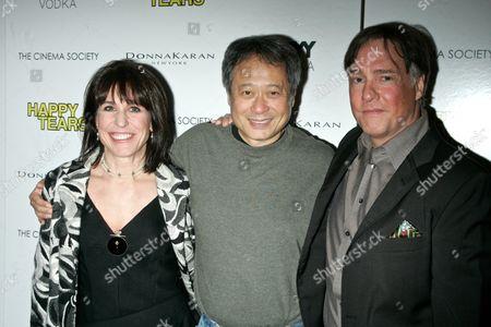 Producer Joyce Pierpoline, Directors Ang Lee and Mitchell Lichtenstein