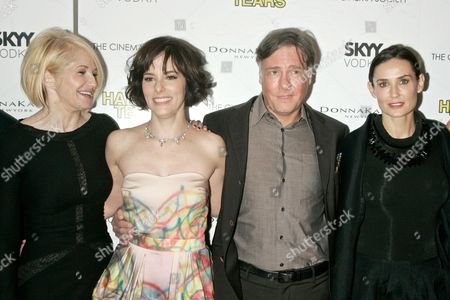 Ellen Barkin, Parker Posey, Mitchell Lichtenstein and Demi Moore