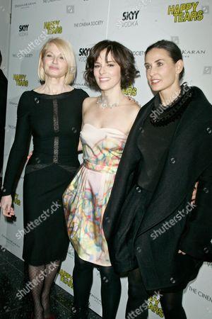 Stock Image of Ellen Barkin, Parker Posey and Demi Moore