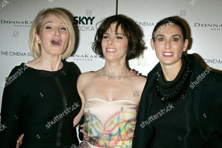 Editorial picture of 'Happy Tears' screening hosted by Skyy Vodka, New York, America - 16 Feb 2010