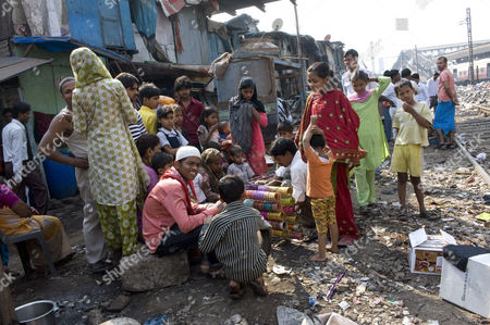 Rubina Ali in the slum area behind Bandra station, Bandra West, Mumbai