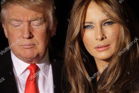 Donald Trump and wife Melania