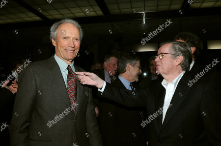 Clint Eastwood, Barry Meyer and Bob Daly