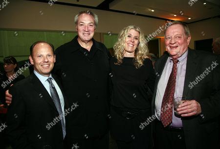Ronald Sanders, Gary Arnold, Carol Arnold and Richard Schickel