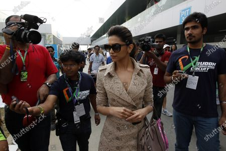 Editorial photo of Formula 1, 2011 Indian Grand Prix - Sunday, Buddh International Circuit, India - 30 Oct 2011