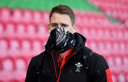 Liam Williams arrives.