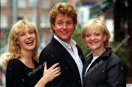 Musical Stars Helen Hobson Michael Ball And Maria Friedman Who Have Recorded Passion.