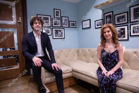 Stock Picture of Lee Mead & Cassidy Janson