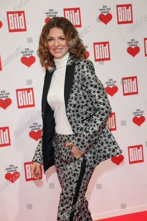 Ella Endlich arrives for the 'Ein Herz Fuer Kinder' ('A Heart for Chidren') Gala at Studio Berlin Adlershof in Berlin, Germany, 05 December 2020. German television channel ZDF and newspaper 'Bild' collected donations for children's charity organizations in Germany and the whole world.
