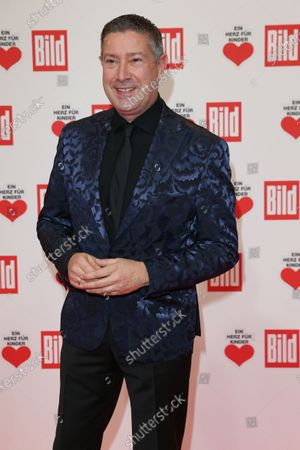 Joachim Llambi arrives for the 'Ein Herz Fuer Kinder' ('A Heart for Chidren') Gala at Studio Berlin Adlershof in Berlin, Germany, 05 December 2020. German television channel ZDF and newspaper 'Bild' collected donations for children's charity organizations in Germany and the whole world.