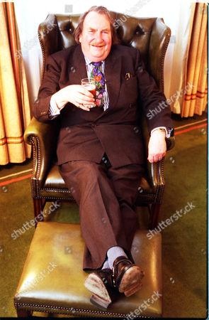 Stock Picture of Industrial Troubleshooter Sir John Harvey Jones.