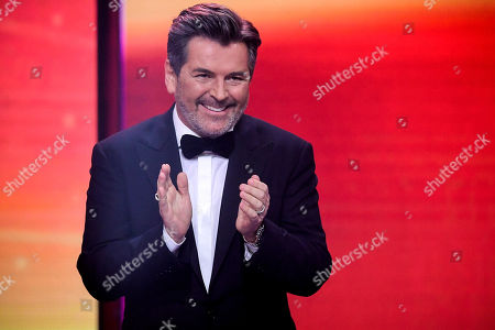 Stock Image of epa08865011 German musician Thomas Anders attends the 'Ein Herz Fuer Kinder' (lit: A Heart for Children) gala show in Berlin, Germany, 05 December 2020. German television channel ZDF and newspaper 'Bild' collected donations for children's charity organizations in Germany and the whole world. EPA-EFE/CLEMENS BILAN / POOL