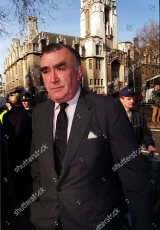 Michael Mates Mp Pictured Outside St. Margaret's In Westminster London Where The Funeral Of Politician Enoch Powell Was Held.