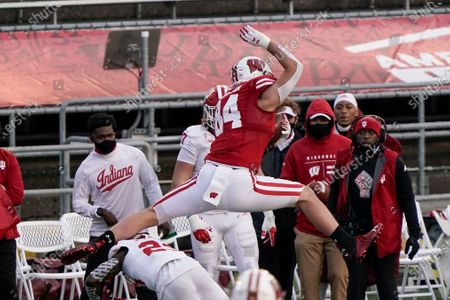 Editorial photo of Indiana Wisconsin Football, Madison, United States - 05 Dec 2020