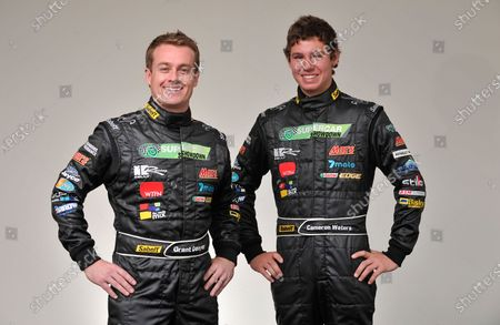 Stock Picture of Supercheap Auto Bathurst 1000km. Mount Panorama, Australia. 6th - 9th October 2011. Grant Denyer / Cameron Waters, Shannons Mars Racing, portrait. World Copyright: Mark Horsburgh/LAT Photographic